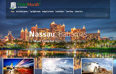 Automated Travel, Hotel  Website Free Installation + Free Hosting