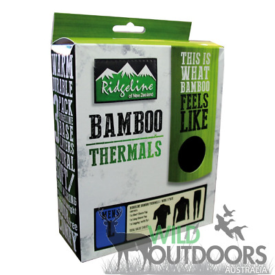 Ridgeline - Bamboo Thermal Clothing Pack - Pants, Short & Long Sleeve Shirt