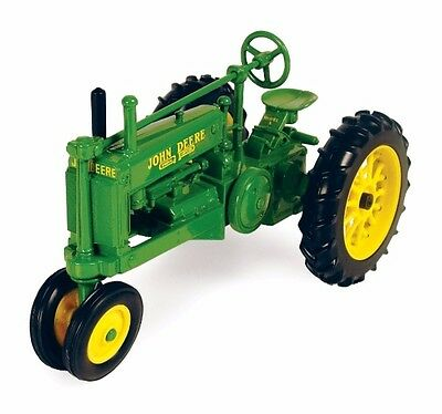 """John Deere 1934 Model """"A"""" Gp Narrow Front Tractor Scale 1/16 Diecast New"""