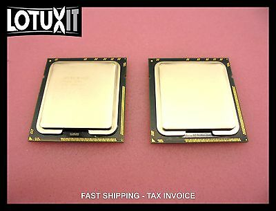 Lot of 2 Intel Xeon E5540 2.53GHz Quad Core LGA1366 Processor 4C CPU
