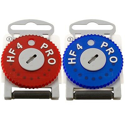 HF4 Pro wax filters - Left (blue) OR Right (red) versions (pack of 15)