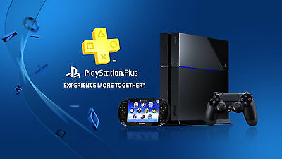 Playstation Plus 12 Months -(Ps3 Ps4 ,ps Vita ) + Video Manual