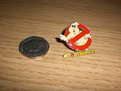 ghostbusters film enamel badge