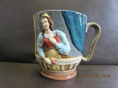 Beswick shakespear mug tankard Parting is such sweet sorrow 1215
