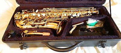 Superb Condition Odyssey (Alto!) Saxophone With Hard Carry Case