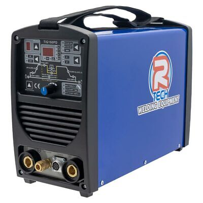 TIG Welder 160AMP DIGITAL DC 240V,  R-Tech TIG160PD-D TIG Welder