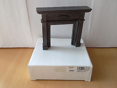 NEW! 12th scale Dolls House Emporium 2603 Black Large Fireplace