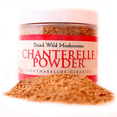 Chanterelle powder jar 80 gr. / 2.8 oz. by InterGourmandise