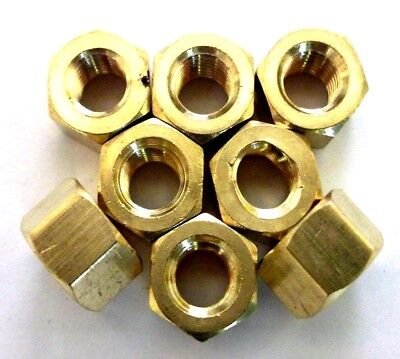 Brass Exhaust Manifold Nuts Unf Unc Metric You Choose Type Required