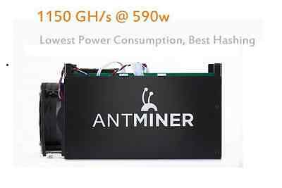 Bitcoin Miner Antminer S5 1.15TH/s Asic Miner 1150GH/s With PSU Included SHA256