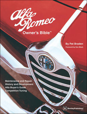 Alfa Romeo Owners Bible A Hands on Guide to MAINTENANCE TUNING REPAIR BOOK