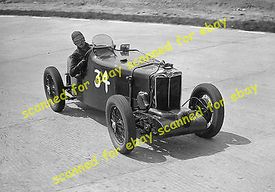 Photo - Supercharged MG, Brooklands, July 1937