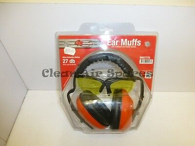 GA Spares Ear Muffs and Safety Glasses BRG7778