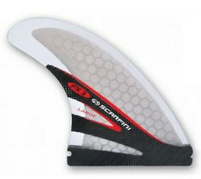 Scarfini FX3 Carbon Base Thruster Surfboard Fin Futures Compatible