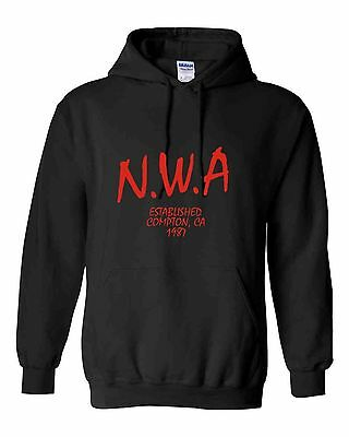 nwa N.W.A n.w.a  heavy top sweat hoody various sizes colours