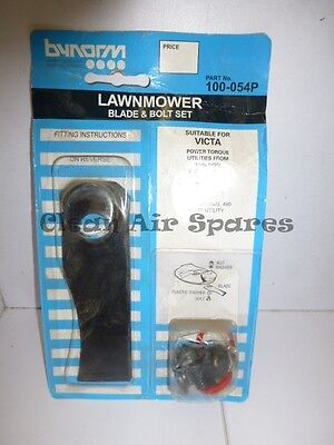 ** AUSTRALIAN MADE ** Bynorm Blades & Bolts suit Victa Utility Mower CA09351S
