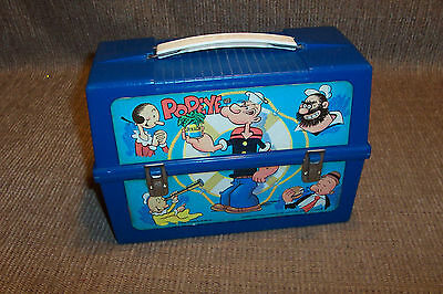 Old Popeye Lunch Pail Box 1979 Vintage Child's School Lunchbox