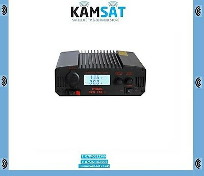 Cb Radio Ham Base Switching Power Supply 30A Sps-350-Ii 9-15 Volts 220