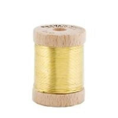 Brass Bassoon Wire Spool (25m long, 0.6mm thick)