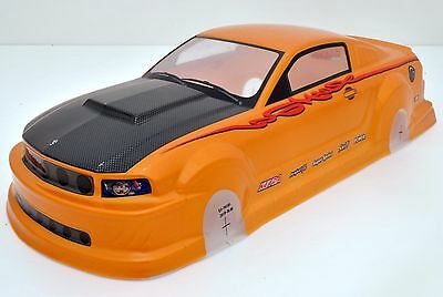 1:10 RC Karosserie FORD 66 Mustang GT350 PVC Analog Painted WB255