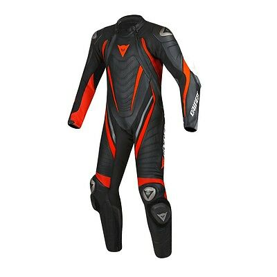 Dainese Motorbike Leather Suit Motorcycle Custom Made CE Armour Any Size/Colour