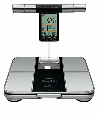 Omron KARADA Scan Body composition Monitor & scale HBF-701 Japanese Import NEW