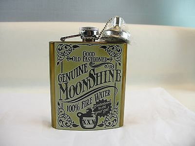 7 oz. stainless steel flask screw top New other