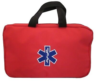 Red Paramedic Star of Life Grab Bag Ambulance St John Medic Doctor