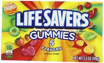 CLEARANCE Lifesavers Gummies 5 Flavors 99g BEST BEFORE 02/17 Free UK Delivery