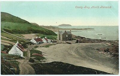 Vintage Postcard.  Canty Bay, NORTH BERWICK.  Unused.   Ref:6.379