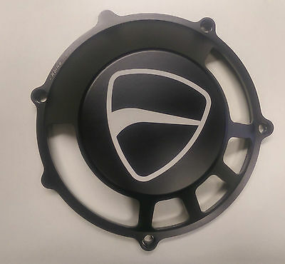 Ducati SS 900/1000 900SS ST2/ST4/ST4s clutch cover window Black /Free P&P/NEW