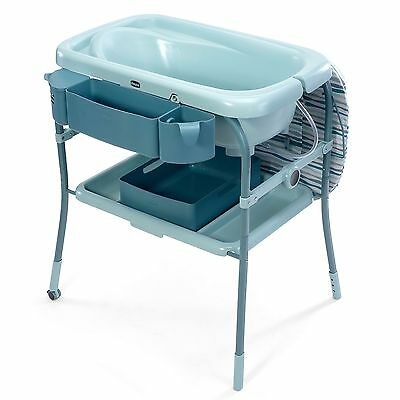 Chicco Cuddle & Bubble Comfort Baby Bath And Changing Table - Wild