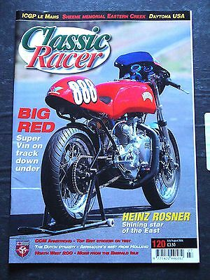 Classic Racer J/A 2006, 120 – Heinz Rosner, NW200, Irving Vincent, Armstrong CCM