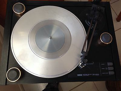 YAMAHA, PF800 TurnTable  Natural Sound Turntable. Old Vintage. DENON CARTRIGE