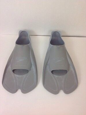 Speedo Biofuse Training Fin Gray Us Size 9-10 Swimming