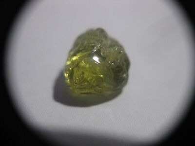 Mali Garnet 2.62ct Facet Rough - Flawless Apple Green Piece