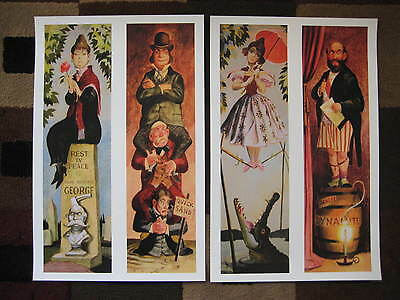 """Vintage Disney 11"""" x 17"""" ( Haunted Mansion Stretching Room ) Collector's Prints"""