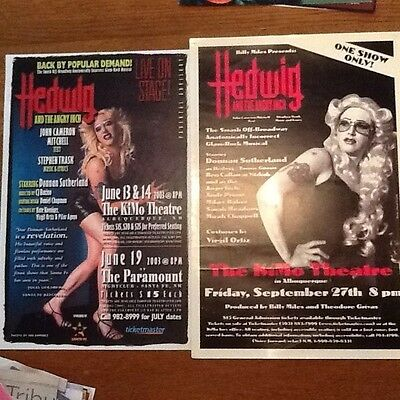Hedwig and the angry inch posters theater posters