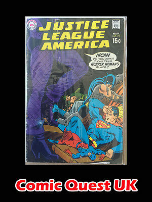 Justice League of America #75 ⭐️ 1st First Black Canary ⭐️ DC ⭐️ VG