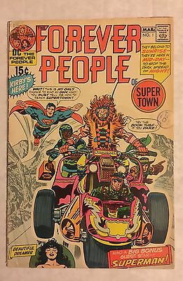 Forever People #1 ⭐️ VG+ ⭐️ 1st First Full Darkseid ⭐️ DC Comics