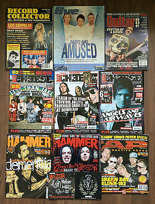 Wholesale job lot 100 magazines (Kerrang, Q, NME, Rock Sound, etc)