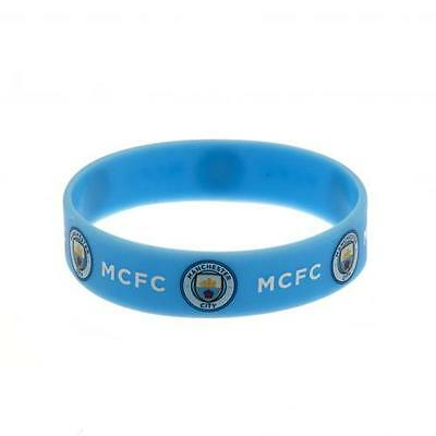 Manchester City F.C. Silicone Wristband Free Postage & Packing