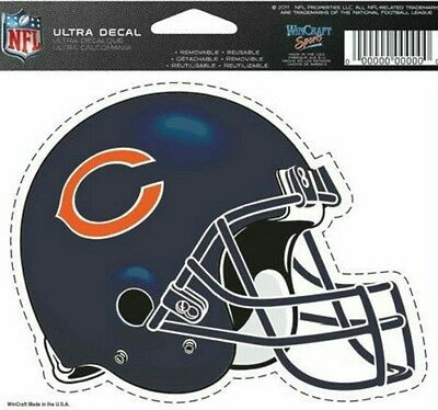 NFL Chicago Bears Helmet Decal by WinCraft Sports