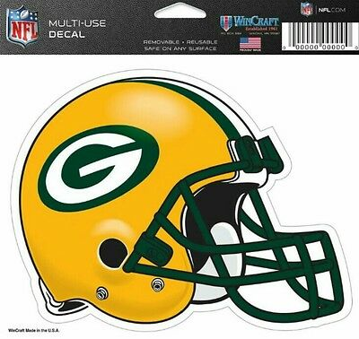NFL Green Bay Packers Helmet Decal by WinCraft Sports