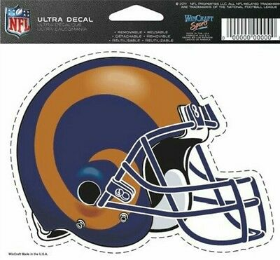 NFL Los Angeles Rams Helmet Decal by WinCraft Sports