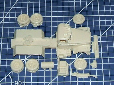 """1/87  """"ho"""" Scale Resin Kit - Dodge Bighorn Truck Tractor"""