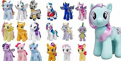 BUILD A BEAR Lot of 19 MY LITTLE PONY Plush Lot NWT Complete Set