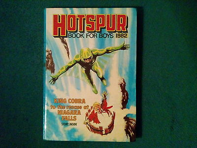 Hotspur Book For Boys Annual 1982 In Excellent Condition