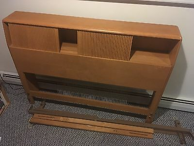 Heywood Wakefield Book Case Twin Size Headboard Board with frame