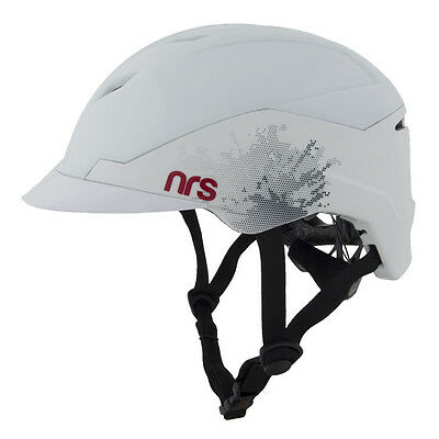 NRS Anarchy Helmet Size M/XL - White - Whitewater Safety Helmet #42608.01 - NEW